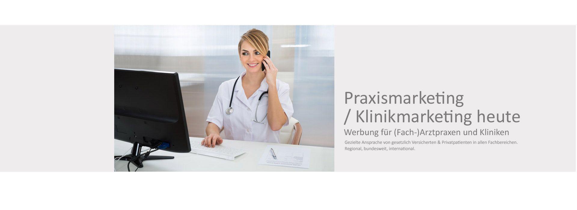 Praxismarketing - Werbung für den Arzt & Zahnarzt